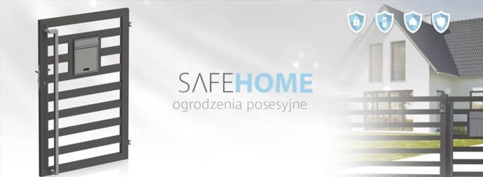 Ogrodzenia posesyjne SAFE HOME