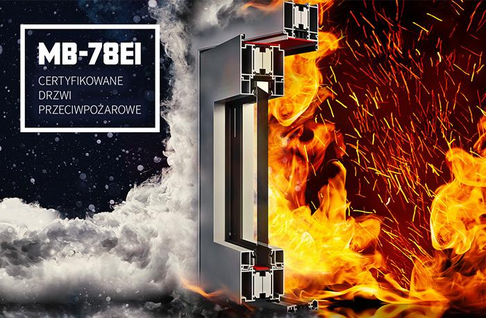 MB-78EI - Certyfikowane drzwi przeciwpożarowe