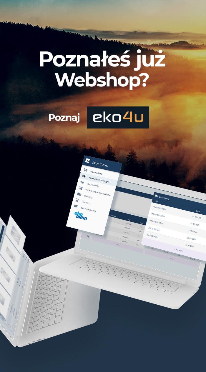 Poznałeś już webshop? Poznaj eko4u