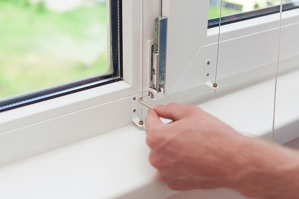 Smarowanie i regulacja okien